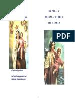 Novena Tradicional Virgen Del Carmen
