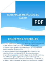 Tecnología de materiales materiales metálicod