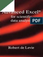 Advanced Excel for Scientific Data Analysis - Robert de Levie - ( Oxford University Press - 2004 - Pp.630 ) Ocr