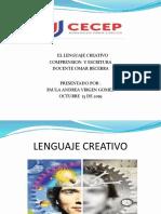 El Lenguaje Creativo