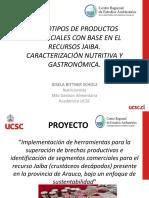 Proyecto Producto Jaibas GISELA BITTNER