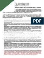 1. Lineamientos de Reporte Técnico