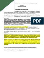Acta Conexa a La Matricula Del Educando.