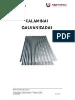 Ft Calamina Galvanizada Sider