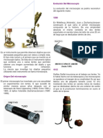 La Evolución Del Microscopio
