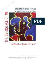 The Emergence of Mind, Representations of Consciousness in Narrative Discourse in English.pdf