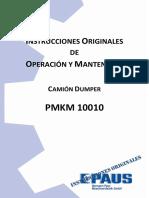 01. Manual de Operación y Mantenimiento