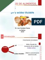 Acidez pH
