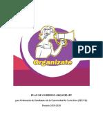 Plan de Trabajo Organizate