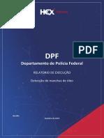 Relatório da empresa HEX entre à PF