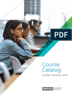VMWare Course Catalog 49477