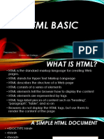 HyperText Markup Language New Lesson