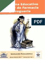 legisalación farmacéutica