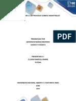 Introducción a Los Procesos Químico Industriales