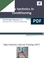 New Technics in Conditioning F