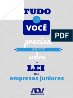 ADV JUNIOR Cartilha Da Lei Empresa Júnior