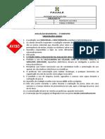Avaliaçao Etapa I Cálculo IV_2S_2019