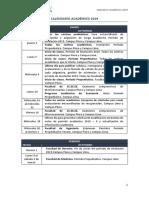 Calendario Académico 2019 (2)