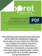 PPT Prácticas Formativas