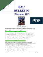 Bulleton 191101 (HTML Edition)