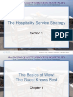 PPTÕŪªManaging Quality Service in Hospitality How Organizations Achieve Excellence in the Gues 1