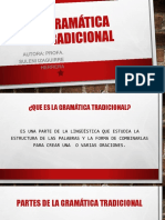 Gramática tradicional