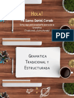 Gramática Tradicional y Estructurada
