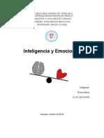 Inteligencia y Emociones