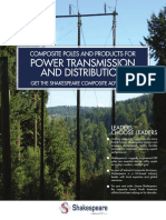 Shakespeare Catalog - Composite Poles and Products for Power Transmission and Distribution