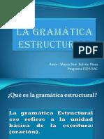 La Gramática Estructural