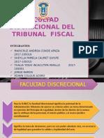 Facultad Discrecional Del Tribunal Fiscal lol