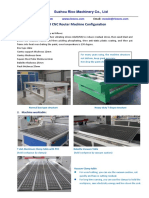 CNC Router Machine Parts List From Supplier RicoCNC