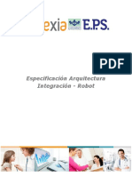 Especificación Arquitectura Integración - Robot.pdf