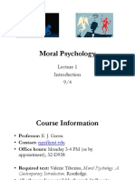 F19 Moral Psych Lecture 1