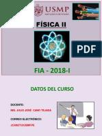 Carga Eléctrica - Ley de Coulomb 2019-I