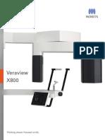 Brochure Veraview X800 ANZ
