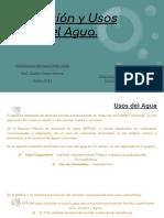 Actividad 1.1 - Disposición y Usos Del Agua