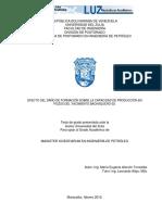 República Bolivariana de Venezuela Universidad Del Zulia Facultad de Ingeniería División de Postgrado Programa de Postgrado en Ingeniería de Petróleo