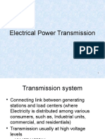 Transmision of Electric Power