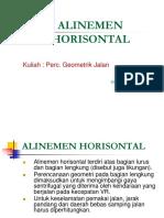DGJR Alinemen Horizontal.ppt
