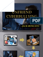 Jack Boncato's Presentation Cybr. Bullying