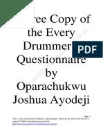 EDQ by Oparachukwu Test I