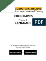 Arsitektur Sebagai Bahasa-Kuliah 2