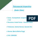 Centro Psicosocial Argentino,Autismo
