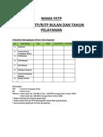 1. Checklist Klaim Non Kapitasi