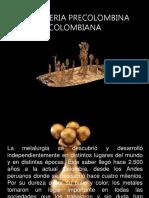 orfebreria bcolombiana