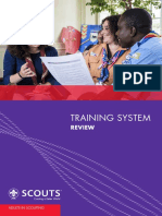WOSM Training SystemReview 0