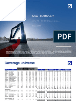 Deutsche Bank Asia Healthcare 2018
