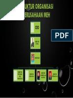 Struktur Organisasi Perusahaan Meh