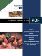 Aditivos Nitratos y Nitritos en Productos Carnicos GCRJ